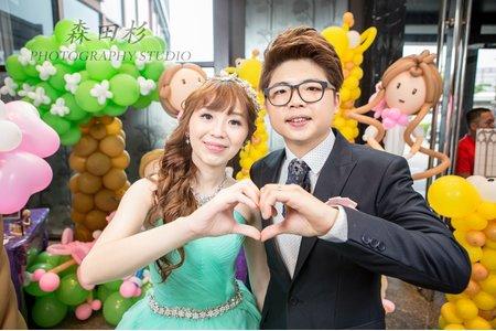 『18-STUDIO』森田杉 婚禮紀錄 - 孟康&荷蓉 wedding 桃園龍潭
