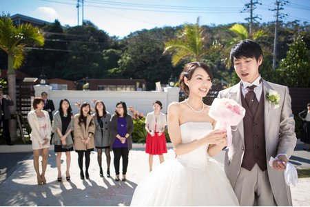 『18-STUDIO』森田杉 婚禮紀錄 - Junya&Sarah wedding 沖繩Okinawa