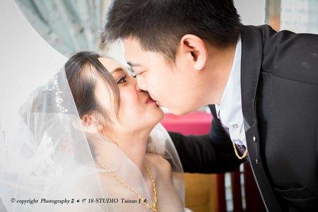 『18-STUDIO』森田杉 婚禮紀錄 冠霖&乃華 台南自宅