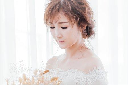宥蓁HD幸福婚禮/韓式空氣感微亂造型