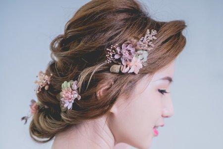 宥蓁HD幸福婚禮/歐美盤髮