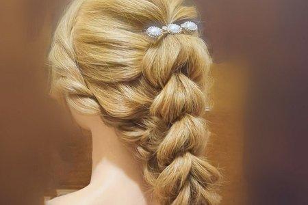 歐美柔美線條髮型