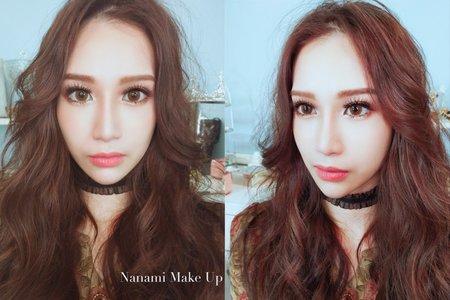 Nanami 張慈慈 新娘造型作品