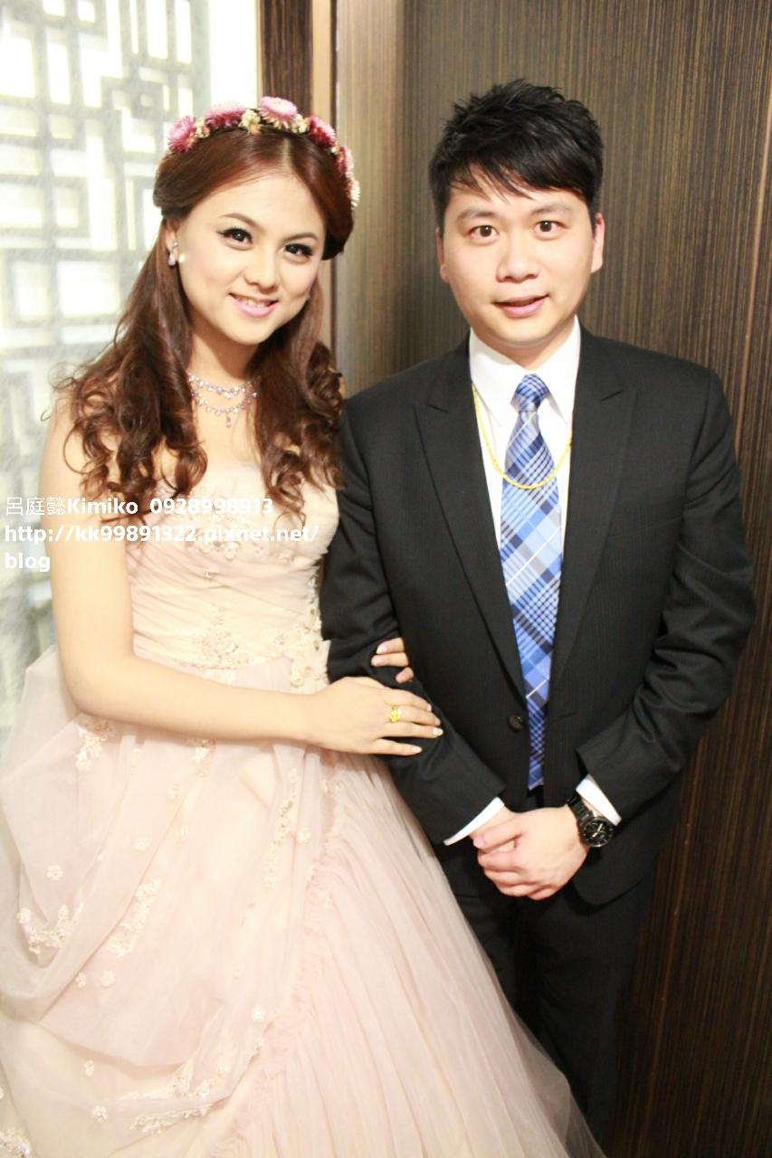 作品(編號:38394) - 呂庭懿Kimiko 新娘秘書/整體造型《結婚吧》