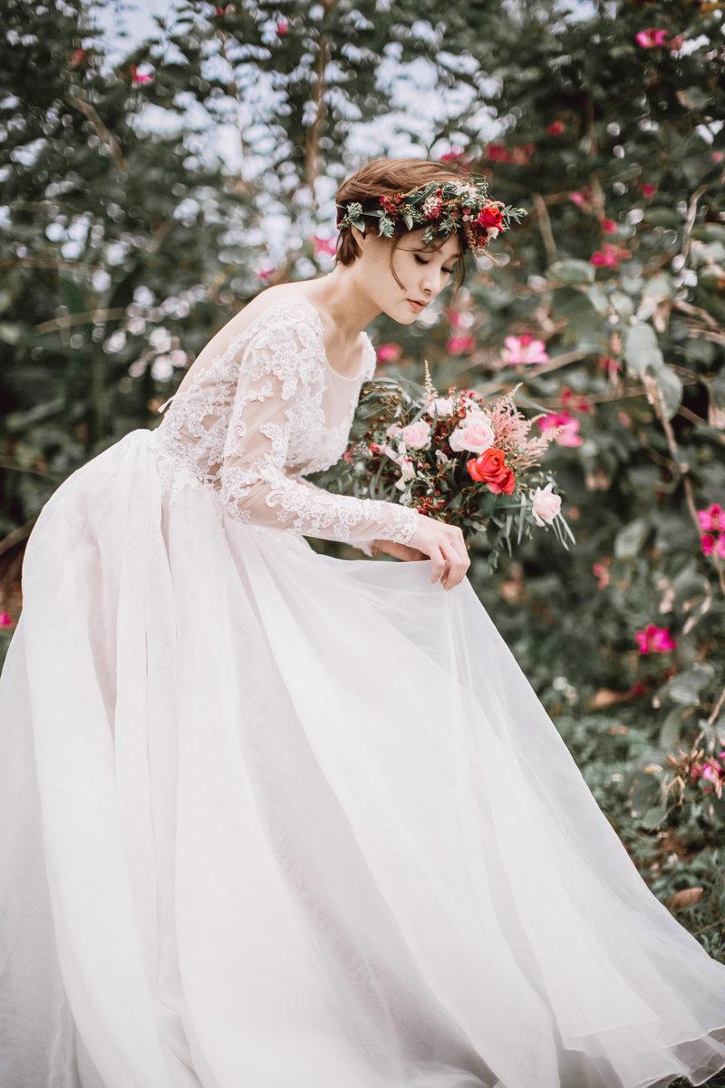 AG輕奢美式婚紗/自助婚紗包套
