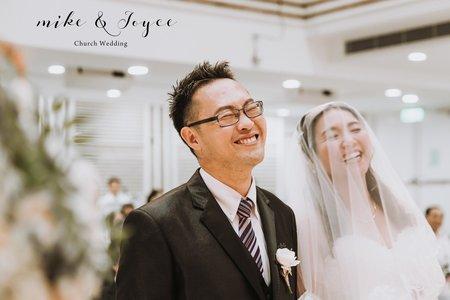 Mike & Joyce  Wedding - 台北靈糧堂 - 教堂婚禮 - 美式婚禮紀錄攝影