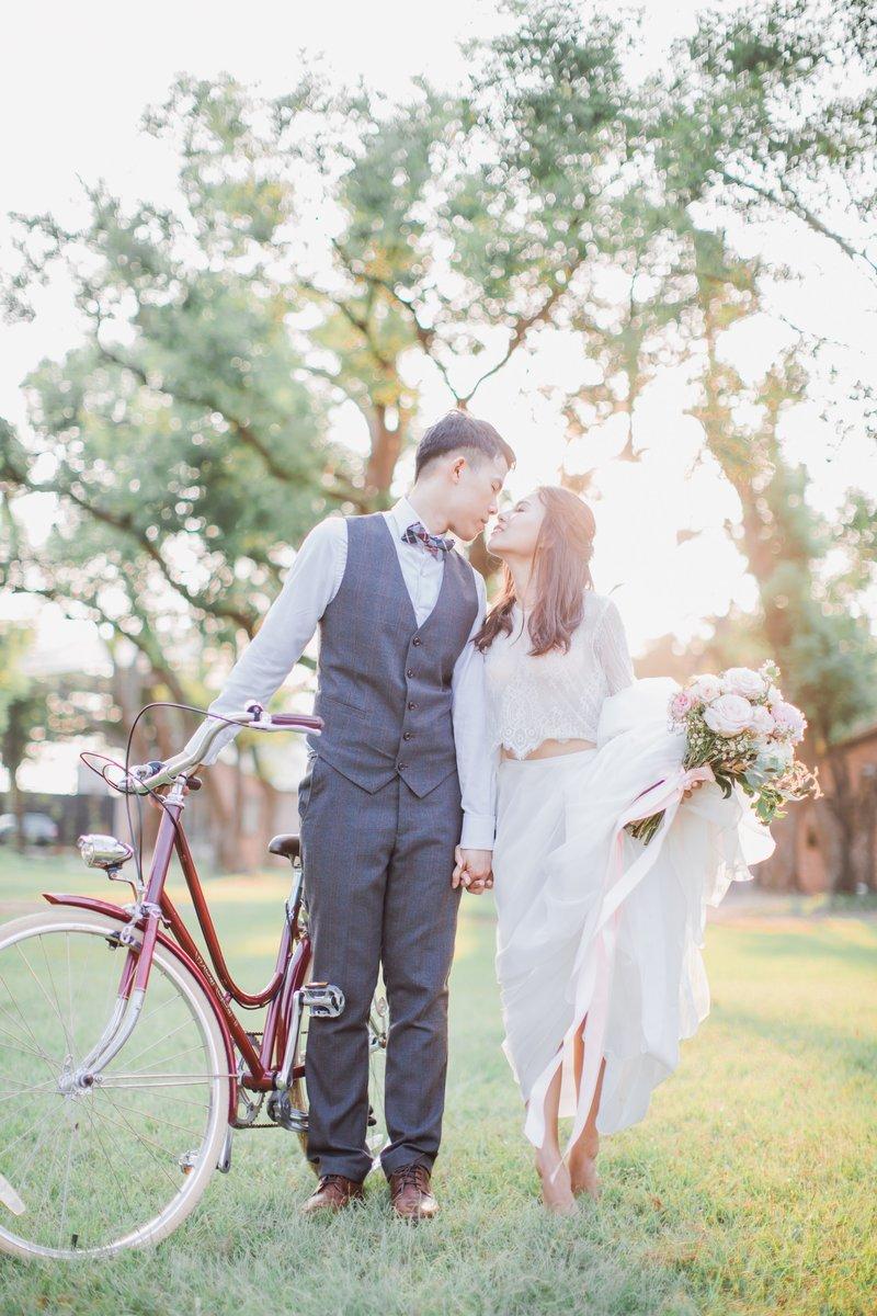 AG輕奢美式婚紗/自主婚紗包套