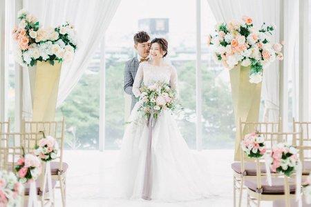 美式婚禮|ANN+LIN WEDDING| 萊特薇庭婚禮-美式婚禮紀錄-教堂證婚-美式婚攝|