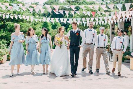 美式婚禮|steve & Pheobe Wedding | 黛安莊園婚禮 - 美式婚禮紀錄 - 戶外婚禮 - 美式婚攝|