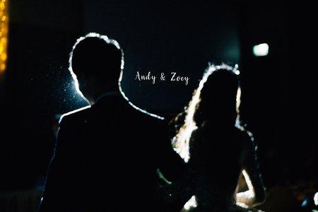 美式婚禮|Andy& Zoey Wedding | 萬豪酒店婚禮|美式婚禮紀錄 - 戶外婚禮 - 美式婚攝