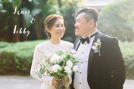 美式婚禮|James & Tibby Wedding | 集食行樂婚禮|美式婚禮紀錄