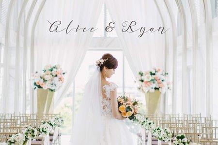 美式婚禮|Alice & Ryan Wedding | 萊特薇庭Light Wedding|美式婚禮紀錄