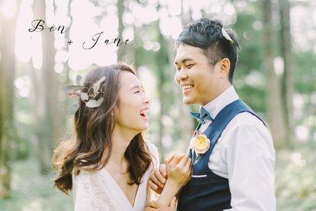 美式婚紗|Ben + Jane Engagement |美式自助婚紗 -美式婚禮 -Fine Art婚紗|