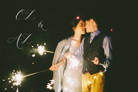 美式婚紗|AC & CZ Engagement |美式自助婚紗 -美式婚禮 |