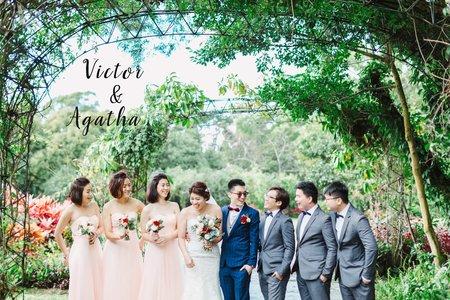 美式婚禮| Victor & Agatha Wedding | Navi Garden 納美花園婚禮 |美式婚禮紀錄