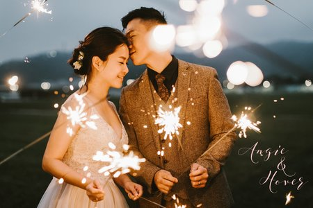 美式婚紗|Angie & Hover Engagement |美式自助婚紗 -戶外婚紗-台中婚紗