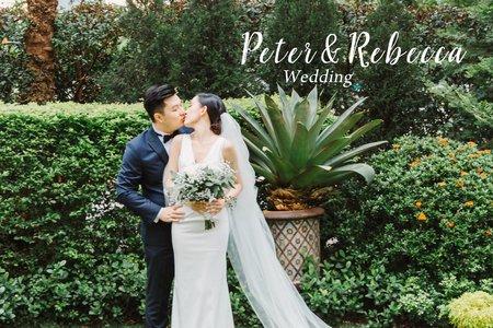 美式婚禮| Peter&Rebecca Wedding | 維多麗亞酒店婚禮 |美式婚禮紀錄