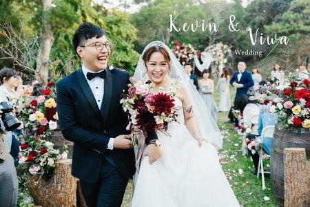 美式婚禮|Kevin & Viwa  Wedding | 顏氏牧場婚禮 |美式婚禮紀錄