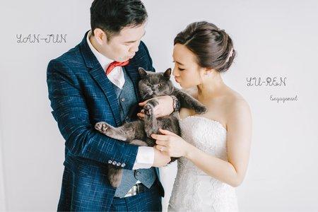 美式婚紗|YAN-JUN & YU-REN  Engagement |美式婚紗-自助婚紗-寵物婚紗-台北婚紗-台中婚紗