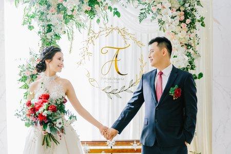 美式婚禮|Tony & Angela Wedding |萬豪酒店婚禮|美式婚禮紀錄|戶外證婚