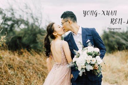 美式婚紗|YONG-XUAN & REN-HUO Engagement |美式婚紗-自助婚紗-戶外婚紗-台北婚紗-台中婚紗