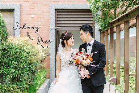 美式婚禮|Johnny & Rene Wedding |維多麗雅酒店婚禮|美式婚禮紀錄|戶外婚禮
