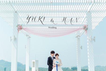 美式婚禮|YUKI & HAN Wedding |心之芳庭婚禮|美式婚禮紀錄|戶外婚禮