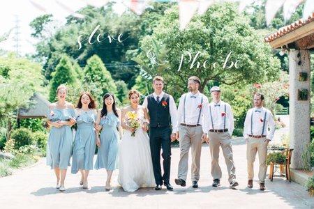美式婚禮|steve & Pheobe  Wedding |黛安莊園婚禮|美式婚禮紀錄|戶外婚禮