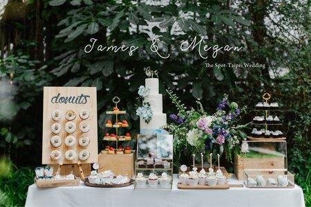 美式婚禮|James & Megan Wedding |光點台北婚禮|美式婚禮紀錄|戶外婚禮|婚禮派對