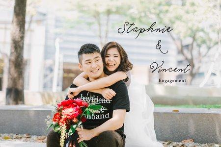 美式婚紗|Staphnie & Vincent Engagement |美式婚紗-自助婚紗-戶外婚紗-便服婚紗-生活感婚紗-台中婚紗