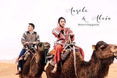 美式婚紗|Alvin & Angela Engagement |美式婚紗-自助婚紗-海外婚紗-摩洛哥婚紗-生活感婚紗-台中婚紗