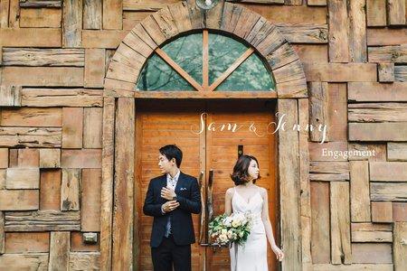 美式婚紗|Sam & Jenny Engagement |美式婚紗-自助婚紗-戶外婚紗-台中婚紗-台北婚紗