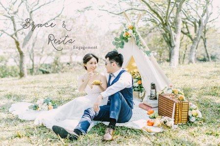 美式婚紗|Bruce & Reita Engagement |美式婚紗-自助婚紗-便服婚紗-戶外婚紗-台中婚紗-台北婚紗
