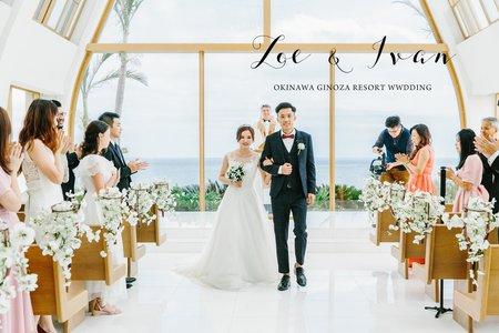美式婚禮|Zoe & Ivan Wedding |沖繩美之教會婚禮|美式婚禮紀錄|海外婚禮|教堂婚禮