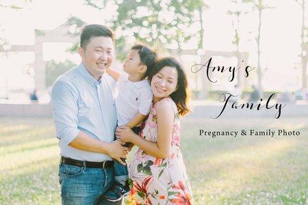 孕婦寫真|Amy's Family|親子寫真 - Pregnancy & Family Photo - 美式婚禮婚紗|