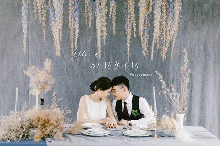 美式婚紗|Ellen & BING-YANG Engagement |美式婚紗-自助婚紗-戶外婚紗-台中婚紗-台北婚紗