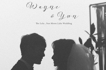 美式婚禮|Wayne & Yun  Wedding |日月潭涵碧樓婚禮|美式婚禮紀錄|戶外婚禮