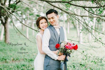 美式婚紗|Christine & Jin Engagement|美式婚紗-自助婚紗-戶外婚紗-台中婚紗