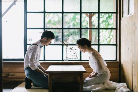 美式婚紗|Alan & May Engagement|美式婚紗-自助婚紗-東海婚紗-戶外婚紗-台中婚紗