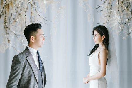 Fine Art 婚紗 | D & C Engagement | 美式婚紗-台中自助婚紗