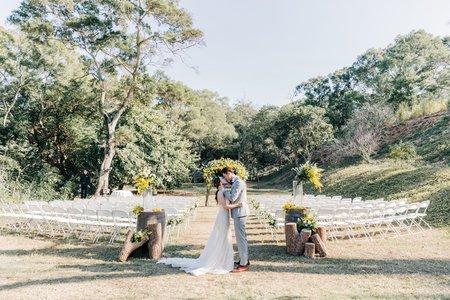 顏氏牧場婚禮 | GARY+LIN WEDDING | 美式婚禮紀錄-戶外證婚-美式婚攝