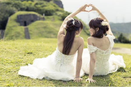 ◇閨蜜婚紗◇ 外拍