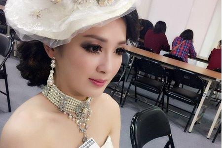 2016秋季時尚新娘國際菁英賽第一名(賽作)