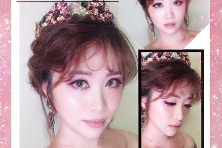 Makeup造型創作(紫韻)