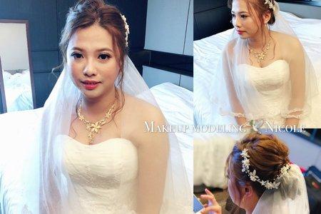 新娘白紗造型(雅琦)