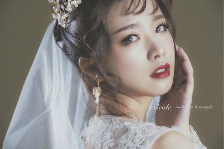 【韓風新娘】典雅女神妝容
