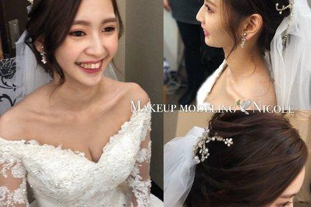 名媛氣質新娘(姿岑)白紗