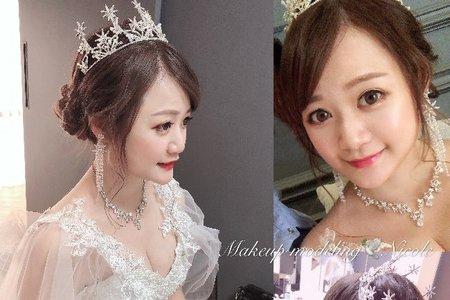 甜心公主風(APO)白紗造型