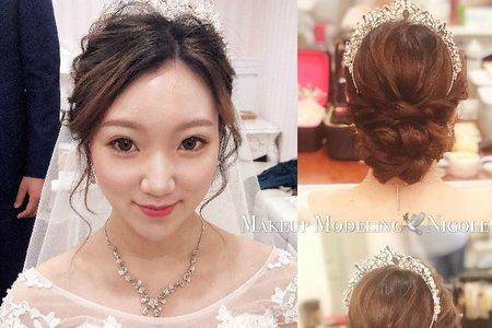 韓系新娘(昱婷)白紗造型