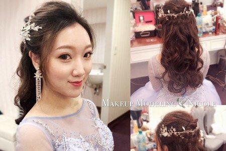 韓系新娘(昱婷)宴客造型